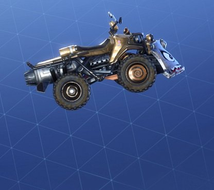 GOLDEN SCALES Wrap - Vehicle