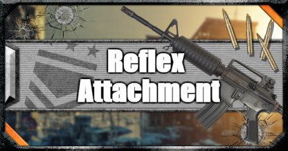 Call of Duty Black Ops IV Weapon Attachments Reflex