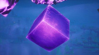 Fortnite Cube Cracks