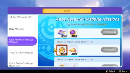 Complete Research Institute Missions