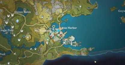 Liben Location Map