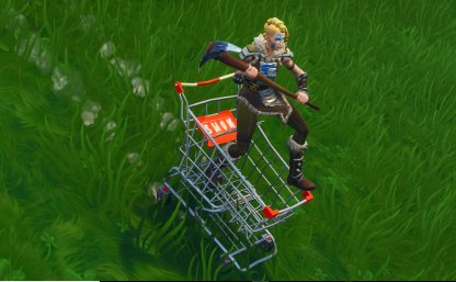 Shopping Cart Switch Places/Get Onboard
