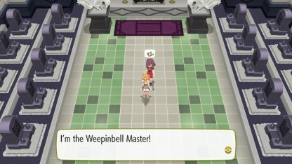 Weepinbell Master Trainer