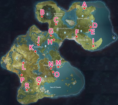 Cryo Whopperflower Locations