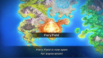Unlock Fiery Field After Getting Clear Wing