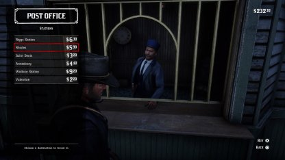 Red Dead Redemption 2 How to Fast Travel Train