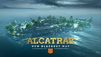 New Blackout Map Alcatraz