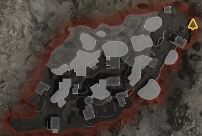 Map layout - cave