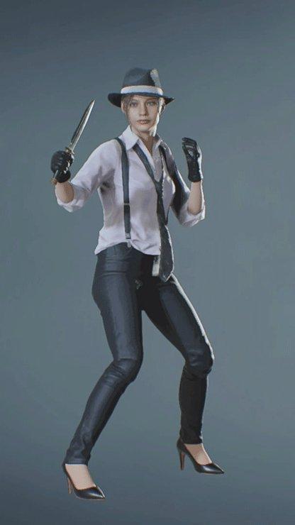 Claire - NOIR Knife Front