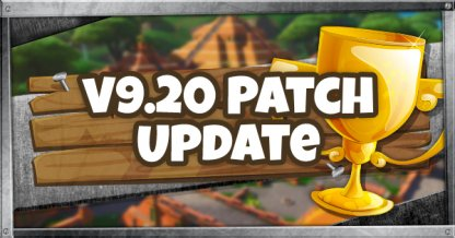 Patch Notes v9.30 Patch Update