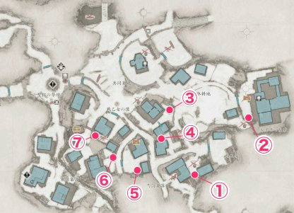 Village - Outhouse Location & Map