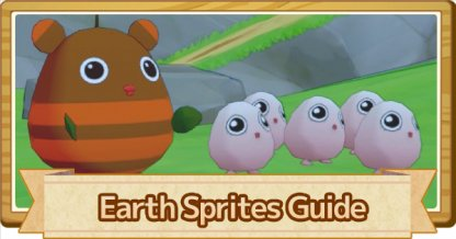 Earth Sprites Guide