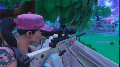 Fortnite Sniper Rifle Weapon