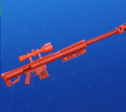 RED TOY Wrap - Sniper Rifle