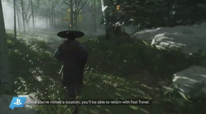 Ghost of Tsushima Fast Travel