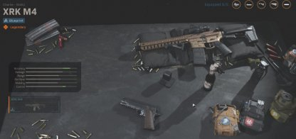 Weapons With Attachments & Unique Skins