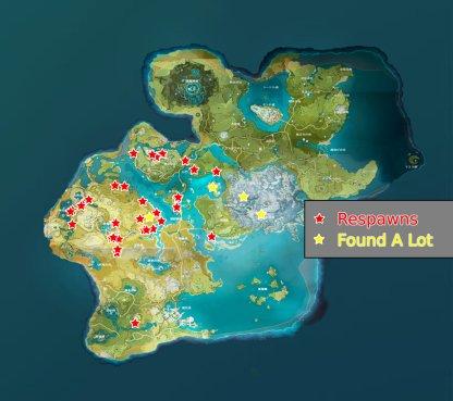 All Farming Locations