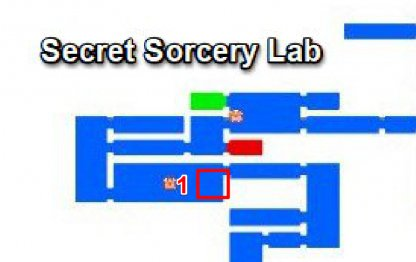 Secret Sorcery Lab - Breakable Walls & Secret Rooms