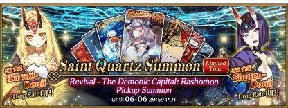 The Demonic Capital: Rashomon Pickup Summon banner
