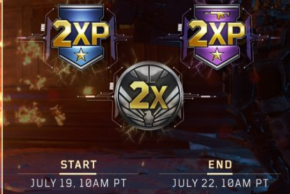 Earn Double XP In Various Game Modes