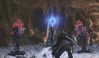 Devil May Cry 5 Wire Snatch To Above Platform To Reach Blue Orb Fragment