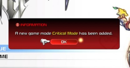 Critical Mode Update Releases On April 23
