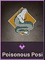 Poisonous Posi... Sticker