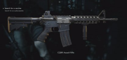 Tactical Grip with the Assault Rifle