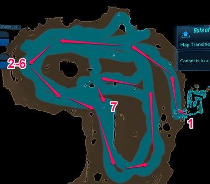 Pandora - Carnivora Map