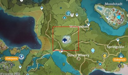 Wolf of the North Location
