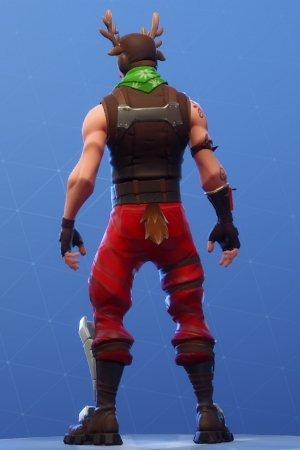 RED-NOSED RANGER Back