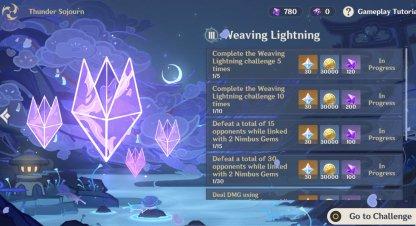 Act 3 Weaving Lightning