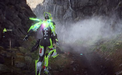 Anthem Flying Guide Hover To Make Quick Stops