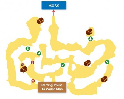 Toadstool Forest map