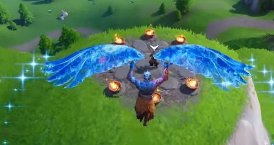 Go To The Circle Of Flames North of Wailing Wood