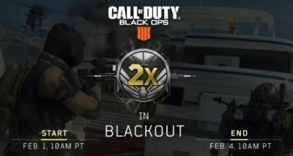 Blackout Double Merit Event