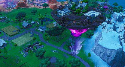 Floating Island First Apperance