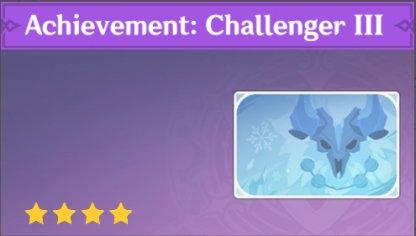 Complete To Get Achievement: Challenger III Namecard