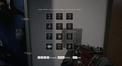 Last Door Access Code