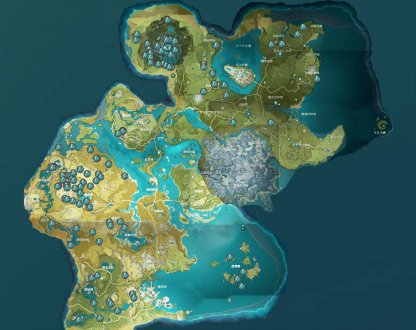 Ore Locations
