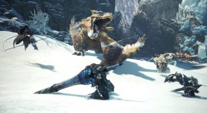MONSTER HUNTER WORLD:ICEBORNE β test