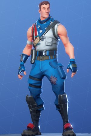 STAR-SPANGLED TROOPER Front