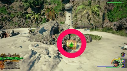 The Caribbean - Treasure Chest & Lucky Emblem Locations Caribbean Sea