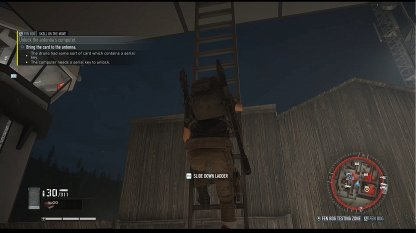 Use Ladders To Reach Antenna