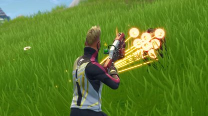 Use High Damage, Fast Shooting Weapons