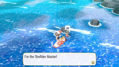 Shellder Master Trainer