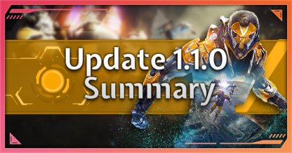 Update 1.1.0 Patch Summary