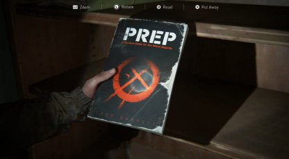 Crafting Training Manual Found In Courtyard