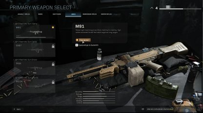Create Loadouts For Your Playstyle