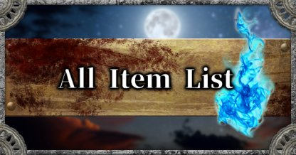 All Items List